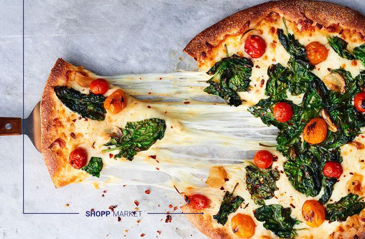 سبزیجاتِ پیتزای سبزیجات چیست؟