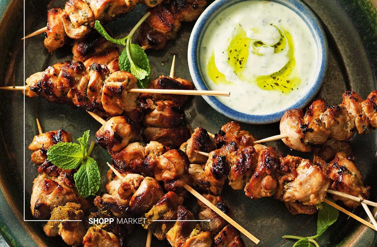 مزه دارکردن مرغ و گوشت